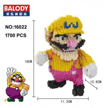 Balody 16022 - Wario (1700 Teile)