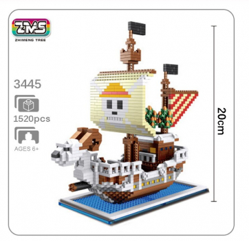 3445 ZMS - One Piece - Flying Lamp (Ohne Box)