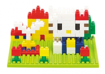Nanoblock - Block Art Hello Kitty (Level 2)