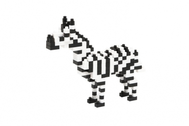 Nanoblock - Zebra (Level 2)