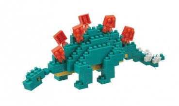 Nanoblock - Stegosaurus (Level 2)