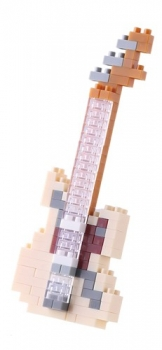 Nanoblock - Electric Guitar Ivory (Level 2)(NBC147)
