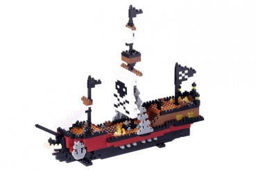 Nanoblock - Pirate Ship (Level 5)