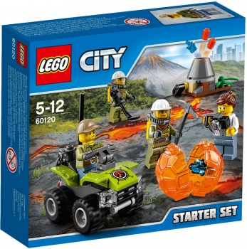 LEGO® City - 60120 - Vulkan Starter-Set *Aktion*