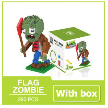 7038A Lboyu - Plants Corpse - Flag Zombie