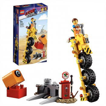 70823 LEGO Lego Movie 2 Emmets Dreirad!