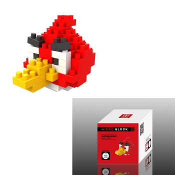Boyu - Micro Block - Angry Bird - Red 8105A