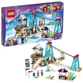 LEGO® 41324 Friends - Heartlake Skilift im Wintersportort