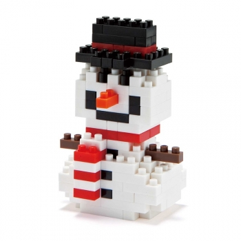 Nanoblock - XMAS -Snow man (Level 1)