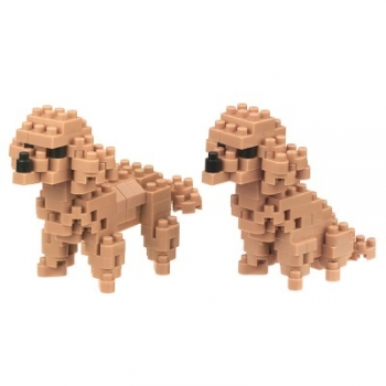 Nanoblock - Toy Poodle - Dog Breed (Level 2)