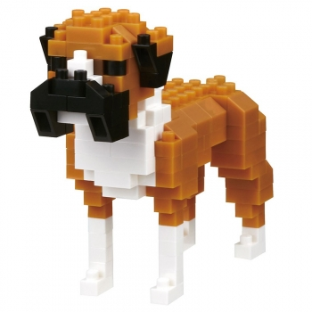 Nanoblock - Dog breed boxer (Level 2)