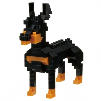 Nanoblock - Dog breed dobermann (Level 2)