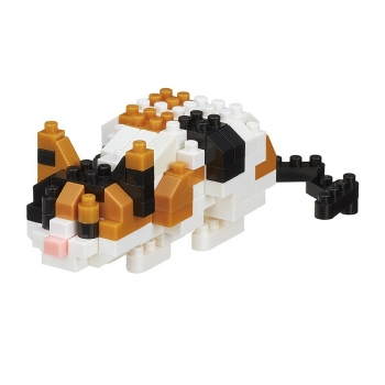 Nanoblock - Cat breed calico cat (Level 2)