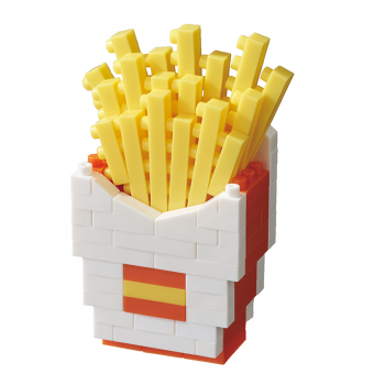 NANOBLOCK - French Fries (Level 2)