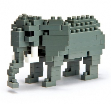 Nanoblock - African Elefant (Level 3)