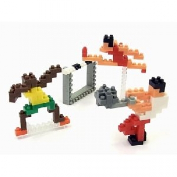 Nanoblock - Athletics (Level 2)(NBCB002)