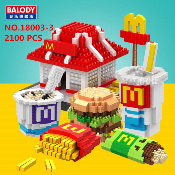 Balody 18003 - Fast Food Restaurant (Ohne Box)