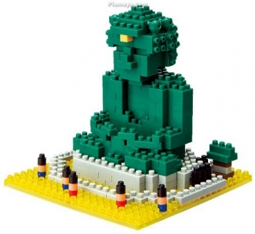 Nanoblock - Great Buddha of Kamakura (Level 3)