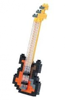 Nanoblock - Electric Bass (Level 2)