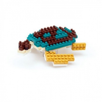 Nanoblock - Green Sea Turtle (Level 1)