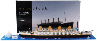 Nanoblock - Titanic (Level 5)