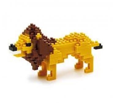 Nanoblock - Lion (Level 2)