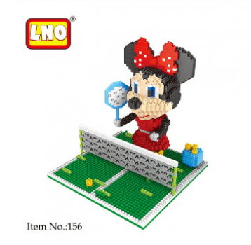 LNO - 156 - Tennis Minnie (Ohne Box)
