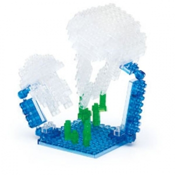 Nanoblock - Moon Jellyfish (Level 3)