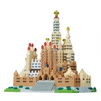 NANOBLOCK - Sagrada Familia Deluxe (Level 5)