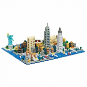 Advanced NANOBLOCK New York (Level 4)