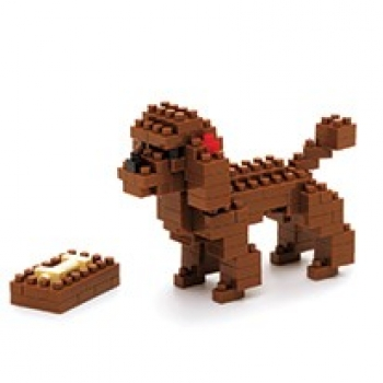 Nanoblock - Toy Poodle (LEVEL 2)(nbc060)