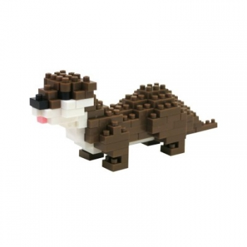 Nanoblock - Small-Clawed Otter (Level 2)