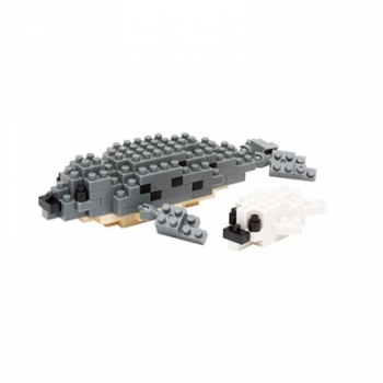 Nanoblock - Spotted Seal (Level 2)