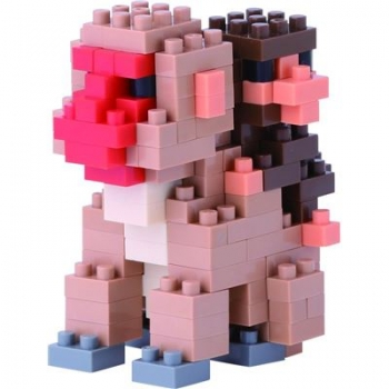 Nanoblock - Mother & Baby Monkey (LEVEL 2)(NBC162)