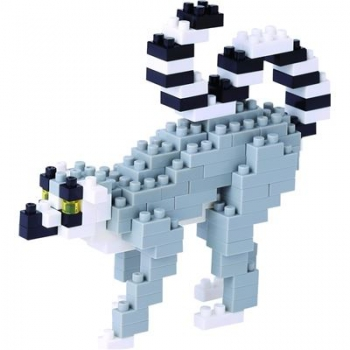 Nanoblock - Ring-Tailed Lemur (LEVEL 2)