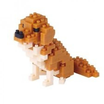 Nanoblock - Golden Retriever (LEVEL 3)