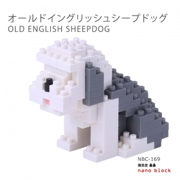 Nanoblock - Old English Sheepdog (LEVEL 2)(NBC169)