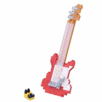 Nanoblock - Electric Guitar Red 2 (LEVEL 2)