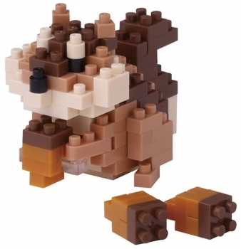 Nanoblock - Squirrel (Level 2)