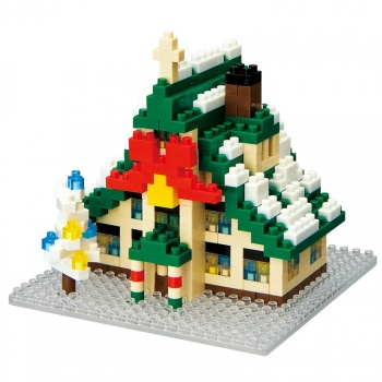 Nanoblock - X'mas House (Level 2)