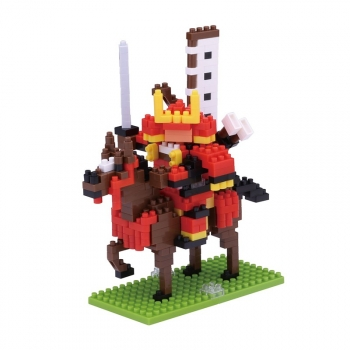 Nanoblock - Samurai (Level 4)