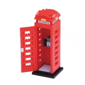 Nanoblock - Telephone Box (Level 3)
