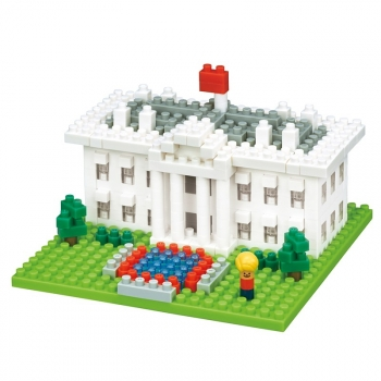 Nanoblock - The White House (Level 2)
