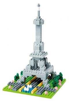 Nanoblock - Rives de la Seine à Paris (Level 1)