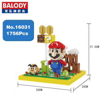 Balody - Super Mario Goomba Coin Castle (Ohne Box)