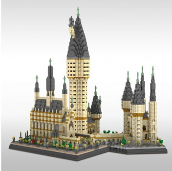 YZ071 Yz-Diamond - Hogwarts Castle (Ohne Box)
