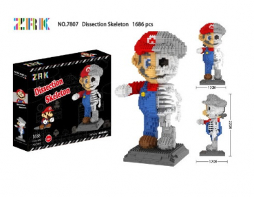7807 ZRK - Dissection Skeleton Mario (Ohne Box)