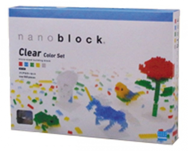 Nanoblock - Clear Color Set