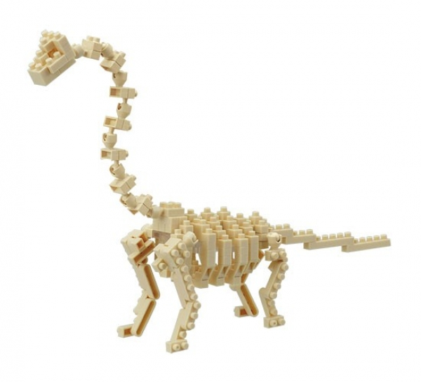 Nanoblock - Brachiosaurus Skeleton (Level 4)