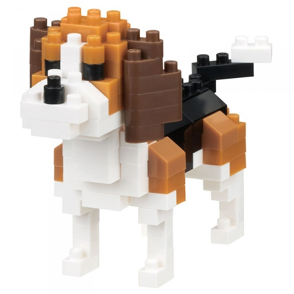 Nanoblock - Dog breed beagle (Level 2)